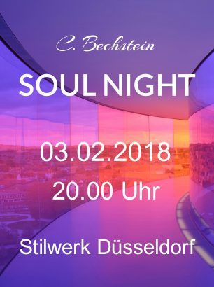 Konzertankündigung C. Bechstein Soulnight 2018 im Stilwerk Düsseldorf