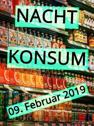 Nachtkonsum Düsseldorf Februar 2019